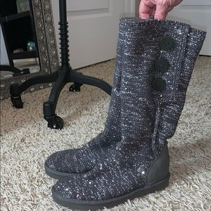 UGG Silver Boots